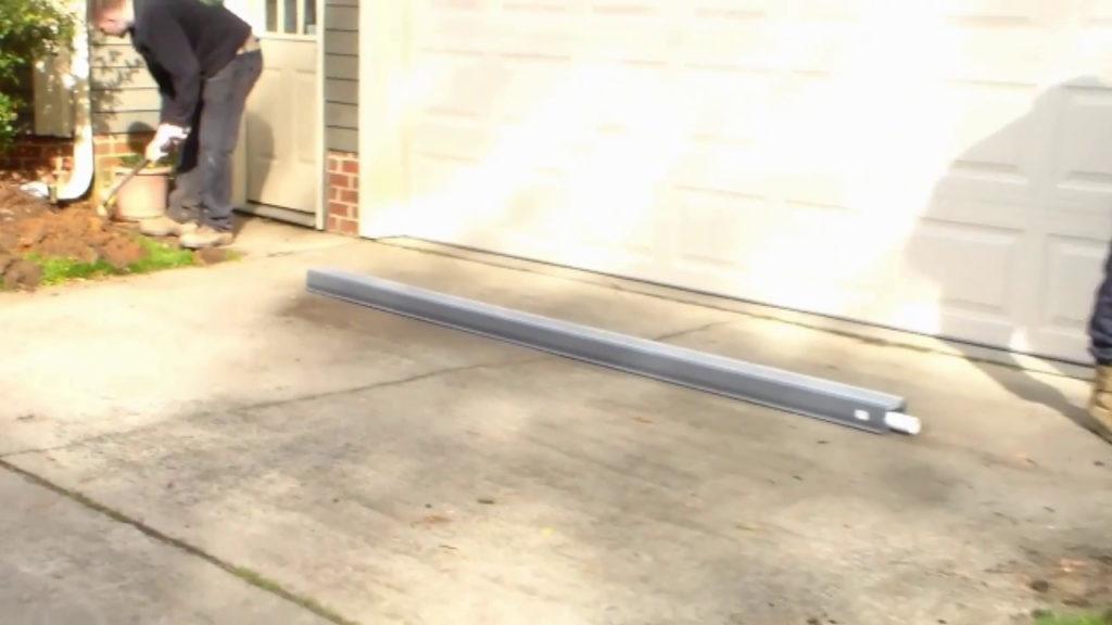 Channel Drain In Front Of Garage Door Best Image Of