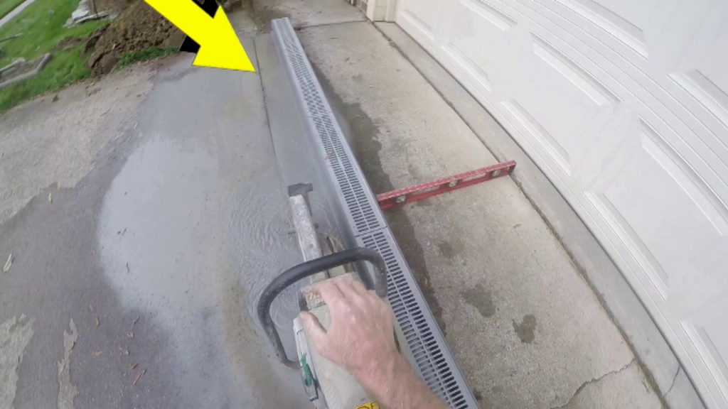 How To Install Channel Drain Apple Drains Orlando